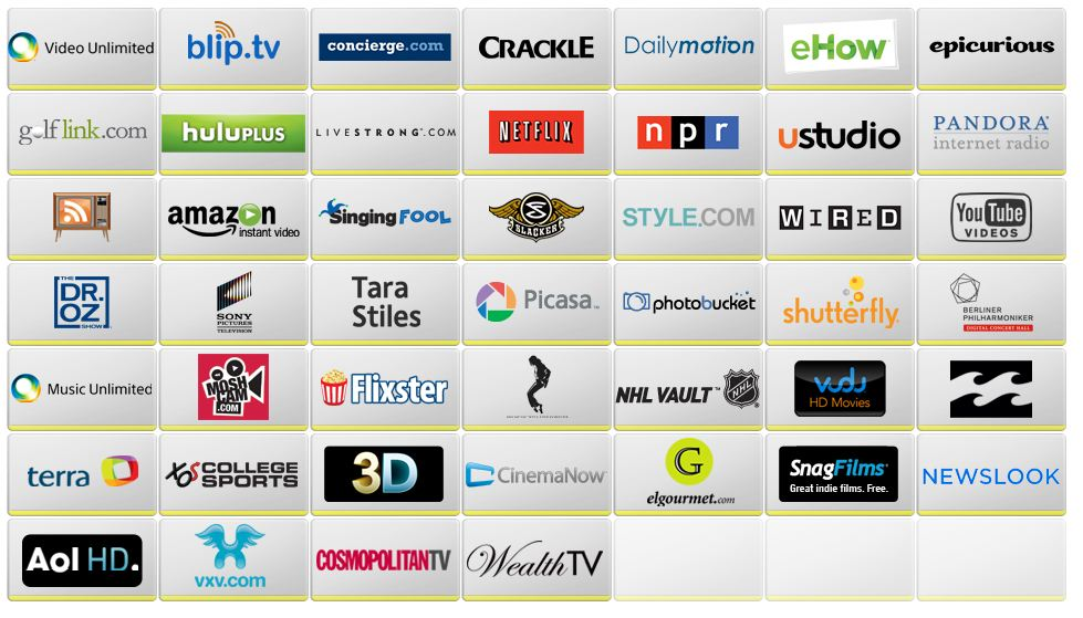 android tv apps liste